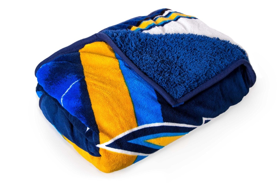 Ds Nfl Mlb Sherpa Twin Throw Blanket Chargers Colts
